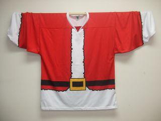 Santa Claus Christmas Replica Hockey Jersey Sz 2XL