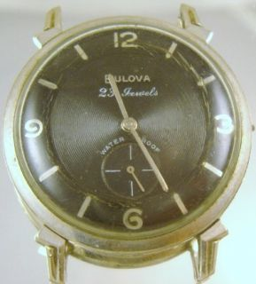 Bulova 23 Jewels Mens Watch