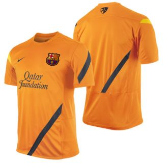 Official 2011 12 Soccer Training Jersey Orange Brand New