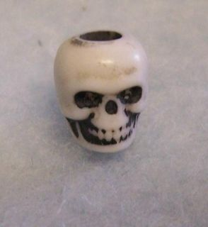 100 Craft Skull Beads Pirate Jewelry Goth Punk Halloween 3 8