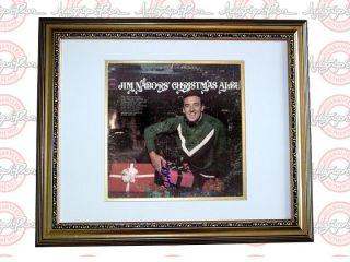 Jim Nabors Autographed Signed Framed LP Album PSA DNA UACC RD COA