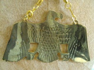 Egyptian Jewelry Pectoral Necklace XX Large Solid Brass