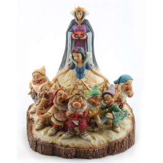 Jim Shore Disney Wood Carved Snow White 4023573