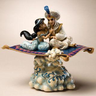 Jim Shore Disney Aladdin Jasmine Magic Carpet Ride