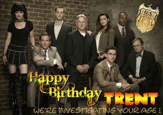NCIS season 9 Leroy Jethro Gibbs Anthony DiNozzo Birthday PERSONALISED