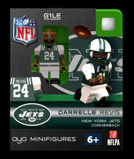 Revis OYO Mini Fig Figure Lego Compatible New York Jets NIP