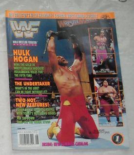 1993 WWF Wrestling Magazine Hogan Yokozuna Bret Hart Undertaker