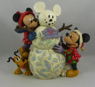 Jim Shore Disney Traditions MAGIC COMES IN MANY SHAPES New w Original