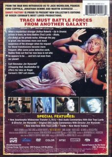 Not of This Earth 1988 Traci Lords DVD New