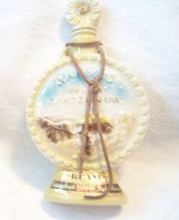 Jim Beam Kansas State Whiskey Liquor Decanter Bottle