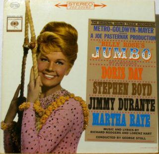 jumbo doris day stephen boyd jimmy durante martha rays original 1963