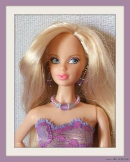 Handmade Dress Jewelry 4 Model Muse Barbie Basics Doll