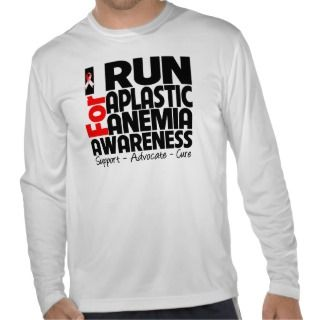 Run For Aplastic Anemia Awareness T Shirts