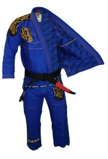 Break Point Light Weight Deluxe Jiu Jitsu Gi Blue A3