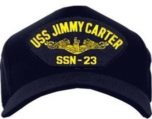 Navy Submarine USS Jimmy Carter SSN 23 USA Hat Cap