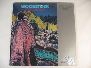 Woodstock 1970 Laserdisc Joan Baez Richie Havens
