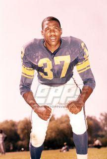 Football Original Color Negative Jim Jones Los Angeles Rams