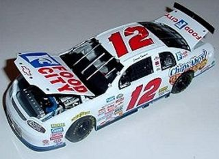 12 Jimmy Spencer 99 Food City 1 64th HO Scale Slot Car Decals