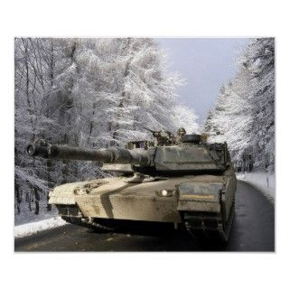 M1 Abrams Posters