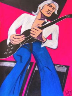 Jimmy Page Painting Guitar Gibson LED Zeppelin Album CD