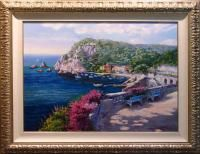 SAM PARK Costa Brava SOLD OUT 1998 SIGNED FINE ART, PUBLISHER COA
