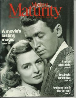 Modern Maturity Magazine Jimmy Stewart Donna Reed Dec 1989 Jan 1990