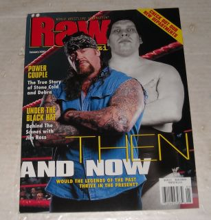 WWF Raw Wrestling Magazine Undertaker Stone Cold Debra Jim Ross