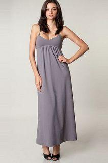 Susana Monaco Poolside String Dress in Shadow Grey