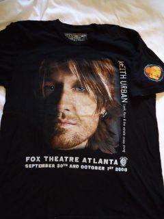 Keith Urban 2006 FOX Concert.LG T SHIRT