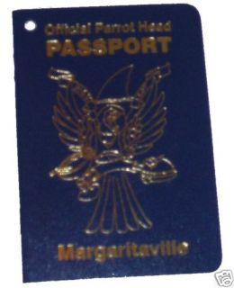 Jimmy Buffett Parrot Head Margaritaville Passport