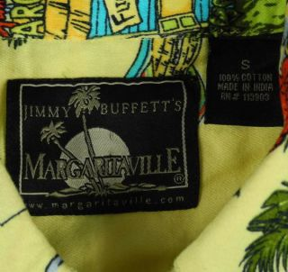 Jimmy Buffetts Margaritaville Stepped on A Pop Top Hawaiian Shirt