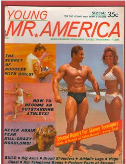 Mr America Joe Weider Bodybuilding John Tristram Sean Flynn Bill Pearl