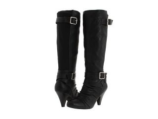 Jessica Simpson Chen knee high Leather Boot Black Woman size 6 5 MSRP