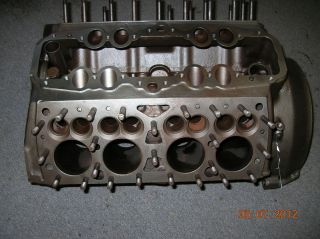 Ford Flathead Engine Block Raised Deck Inspected 1941 to 1942 Restore