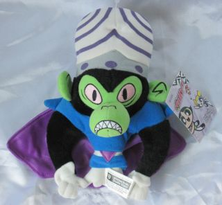 Powerpuff Girls Mojo JoJo 6 Beanie Plush Toy w Tag