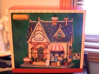 Bakery Mt Joy Lemax 2012 Christmas Village Holiday Decor Lighted House