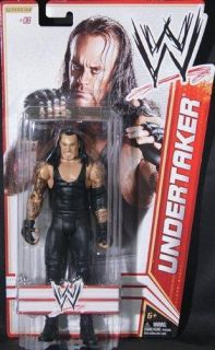 Undertaker WWE Mattel Basic 13 Action Figure Toy 6