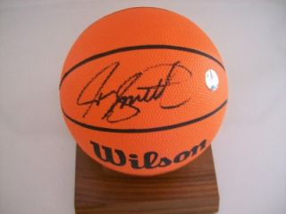 Joe Smith Signed Mini Basketball PSA DNA F19458