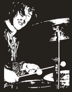 John Bonham LED Zepelin Drum Legend Vintage T Shirt RARE Jimmy Page