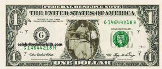 LED Zeppelin John Bonham Celebrity Dollar Bill Uncirculated Mint US