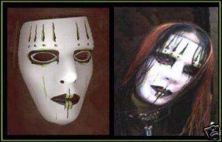 Joey Jordison Green White Black Slipknot Mask