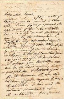 John C Fremont Autograph Letter Signed 03 21 1864