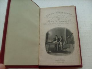 ANTIQUE ILLUSTRATED BOOK YOUNG ASTRONOMER 1849 ASTRONOMY JOHN ABBOTT
