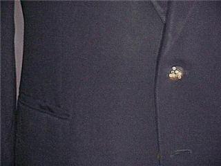 Sharp s John Alexander Navy Blue Mens Blazer Size 44 R