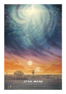 Star Wars Celebration IV C4 John Alvin Edition Bright Center Poster