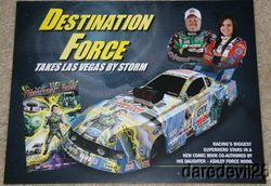 2012 John Force/Ashley Force Destination Force Ford Mustang FC NHRA