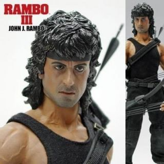 RAMBO III 3 FIRST BLOOD SYLVESTER STALLONE JOHN HOTTOYS HOT TOYS
