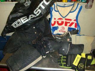 Ice Hockey Gear Koho Pants Easton Bag Jofa Shoulder Elbow Pads