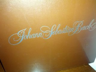 Johann Sebastian Bach The Smithsonian Collection Vinyl Albums Box Set