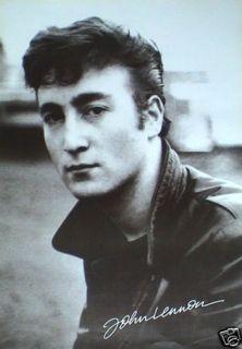 John Lennon Young Kid Poster Beatles Paul McCartney